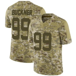 DeForest Buckner Indianapolis Colts Youth Limited 2018 Salute to Service Nike Jersey - Camo