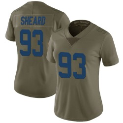 Jabaal Sheard Indianapolis Colts Women's Limited Salute to Service Nike Jersey - Green