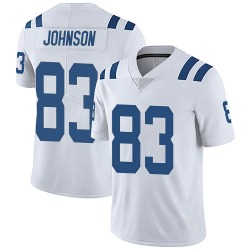 Marcus Johnson Indianapolis Colts Youth Limited Vapor Untouchable Nike Jersey - White